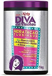Hidratação Turbinada Diva de Cachos, 1 kg, Niely