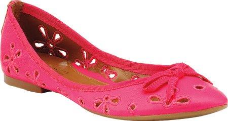 Sperry Womens Luna Leather Espadrille Flats Met Open Teen, Neonroze, Maat 10.0