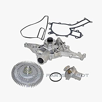 Amazon Com Oaw Be2220 Engine Water Pump For Mercedes Benz With Oil