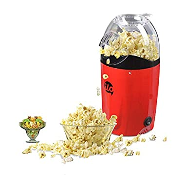BMS Lifestyle 1200W Hot Air Snacks Maker, Use For Making Multip Oil Free Snacks,  with Measuring Cup and Removable Top Cover (Red) 6