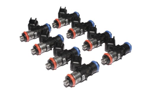 FAST 30857-8 Precision-Flow 85 lb/hr 892.5cc/min High-Impedance Fuel Injector for LS3/LS7, (Set of 8) (Injector High Impedance Fuel)