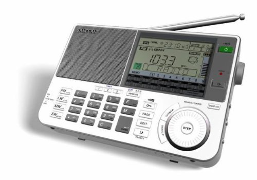Sangean ATS-909X AM/FM/LW/SW World Band Receiver (Certified Refurbished)