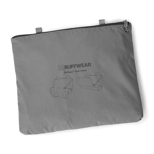 - RUFFWEAR - Dirtbag Vehicle Seat Cover for Dogs, Granite Gray