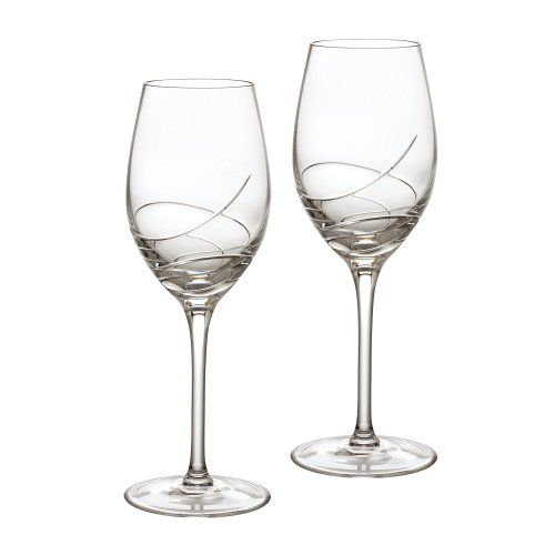 - Waterford Ballet Ribbon Essence White Wine Pair