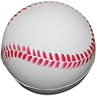 WINOMO 12pcs 63 mm Mousse PU Souple Pratique Baseball pour Les Étudiants et Débutant (Blanc)