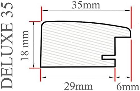 DELUXE35 Bilderrahmen 100x58 cm oder 58x100 cm Foto//Galerie//Posterrahmen