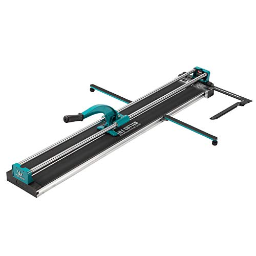 (CO-Z Manual Tile Cutter 48 Inch Cutting Length Professional Porcelain Ceramic Floor Tile Cutter Machine Adjustable Laser Guide for Precision Cutting (48 inch))