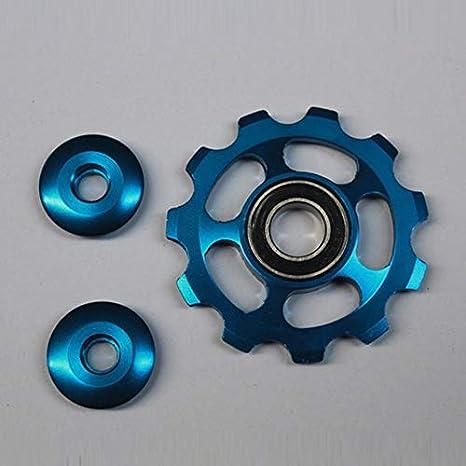 Aleación de Aluminio Jockey Wheel 11T Rueda de tensión de la ...