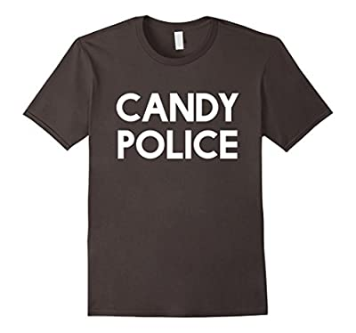 Candy Police Funny Shirt Mom or Dad - Halloween Costume Tee