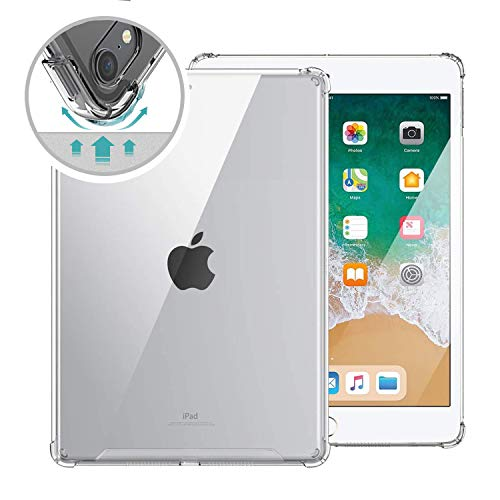 ORIbox Clear Case for iPad 7th 10.2''(2019)/iPad Air 3rd 10.5''(2019) /iPad Pro 2nd 10.5''(2017),Clear TPU Back Cover for iPad,10.2/10.5 inch,Clear (iPad 7 10.2'' -Air 3/Pro 2 10.5'')