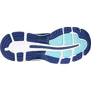 ASICS Women's Gel Nimbus 20 Running Shoes, Indigo Blue/Indigo Blue/Opal Green, 9.5 2A US
