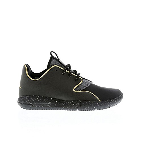 Nike Jordan Eclipse Holiday Bg, Zapatillas de Deporte para Niños Negro / Dorado (Black / Metallic Gold-Mtllc Gold)