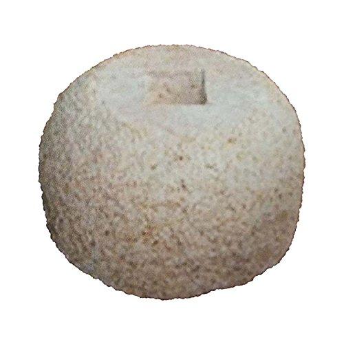 錆石 柱受 丸 7寸 上210×底330×高150 アミ代不 B01MRIEFAK
