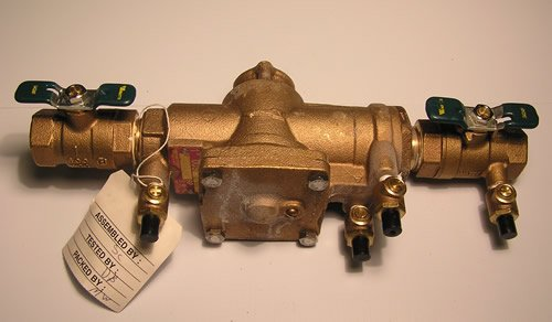 009-QT 1 inch Reduced Pressure Zone Backflow Preventers