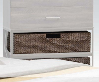 Acme Furniture 20958 Adrianna Basket for Chest (Set-2), Walnut