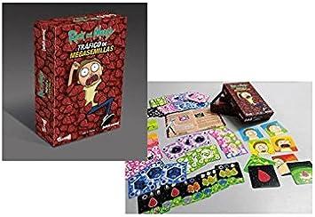 Crazy pawn- Juego de Mesa Tráfico de Megasemillas Rick & Morty ...