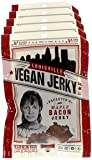 Louisville Vegan Jerky - Maple Bacon, Vegetarian & Vegan Friendly Jerky, 21 Grams of Non-GMO Soy Protein, Gluten-Free Ingredients (Pack of 5, 3 oz.)