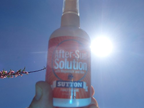 Sunburn Relief Spray Premium After-Sun Solution Soothes Skin Over-Exposed to The Sun. Easy Glycerin-Based Spray-On with Squalene, Urea and Allantoin Moisturizing Factors for Natural, Healthy Skin. by Sutton Family Skin Care (Image #7)