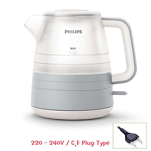 Philips HD9341 Daily Collection Electric Kettle 1L 2000W 220V See-through Design