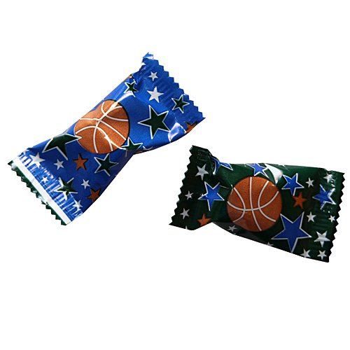 Basketball Party Mints Package of 50 (Printed Wrapped Mints)