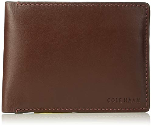 Cole Haan Mens Wallets - Cole Haan Men's Hamilton Grand Bifold with Removable Passcase, cordovan, One Size