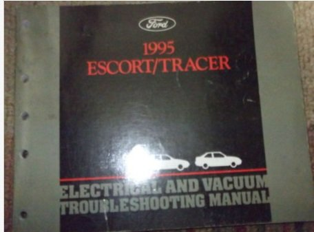 Ford 1995 Escort/Tracer Service Manual
