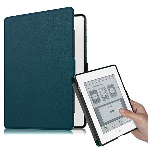 Fintie Case for Nook GlowLight Plus (Previous Gen 6 inch - Barnes & Noble 2015 Model BNRV510) Case, Premium PU Leather Slim Cover, NOT Fit 7.8 Inch 2019 New Version, Navy
