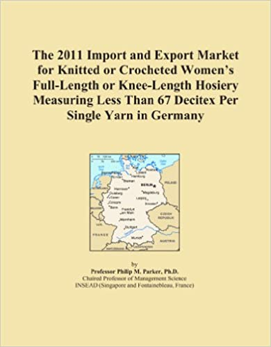 Book The 2011 Import and Export Market for Knitted or Crocheted Women's Full-Length or Knee-Length Hosiery Measuring Less Than 67 Decitex Per Single Yarn in Germany