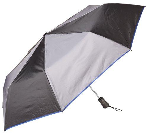 totes Titan Close Umbrella Charcoal