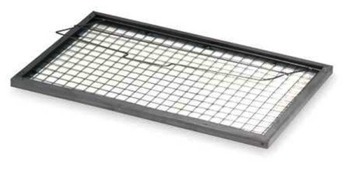 Filtration Group 12098 Pad Holding Air Filter Frame, 26 Gauge Galvanized Steel Frame with a 16 Gauge Welded Wire, Gray, 15