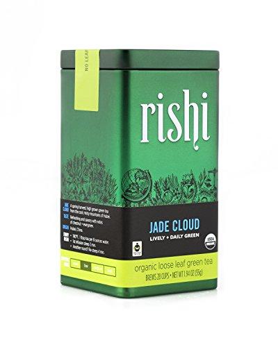 Rishi Tea Organic Jade Cloud Loose Leaf Tea, 1.94 Ounces Tin ()
