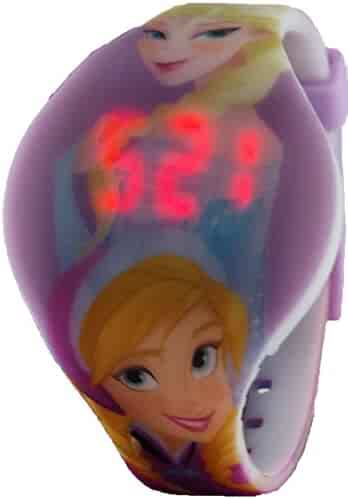 Disney Frozen Kid's LED Watch with Printed Band (FZN3672VW)