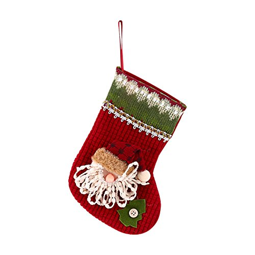 [CHRIS]Christmas Party Santa Socks Cute Xmas Tree Hanging Ornaments Festival Decoration