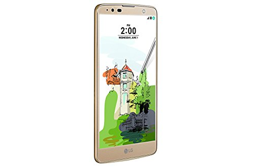 LG Stylus 2 Plus K530F Unlocked 16GB Phone, 5.7-Inch, No warranty - International Version (Gold)