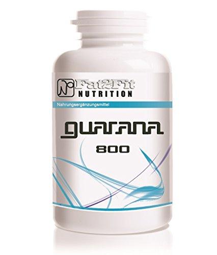 Guarana 800mg - 120 Tabletten - Die preiswerte Alternative