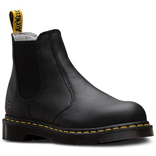 (Dr. Martens Work Women's Arbor Steel Toe Chelsea Boot Black 7 B UK)