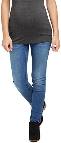 Jeans de maternidad de Motherhood Secret súper elásticos, se adaptan.