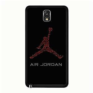 Universal Samsung Galaxy Note 3 N9005 Case, Brand Jordan Mark Phone Case Snap on Samsung Galaxy Note 3 N9005 Exquisite Graceful Jordan Logo Pattern Cover Case