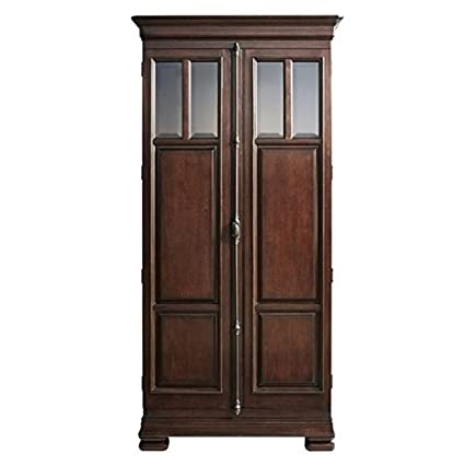 Beaumont Lane Tall Cabinet In Rustic Cherry