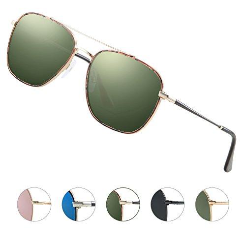 Sunglass color Elegear Vert Place 5 Aviator qF5xwF7WaC