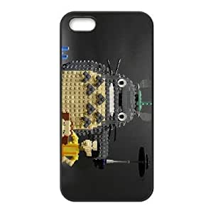 Back Skin Case Shell iPhone 5, 5S Cell Phone Case Black My Neighbor Totoro Bcpnu Pattern Hard Case Cover