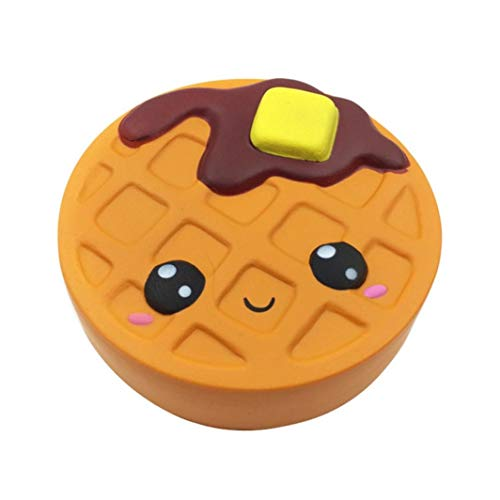 Yliquor 12cm Silly Brownie Suoer Squishy Toys Slow Rising Cream Scented Stress Relief Toy Squeeze Toys (A) ()
