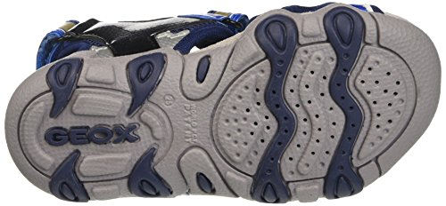 Geox Jr Sandal Strike B, Sandalias para Niños Azul (NAVY/LT BLUEC0693)