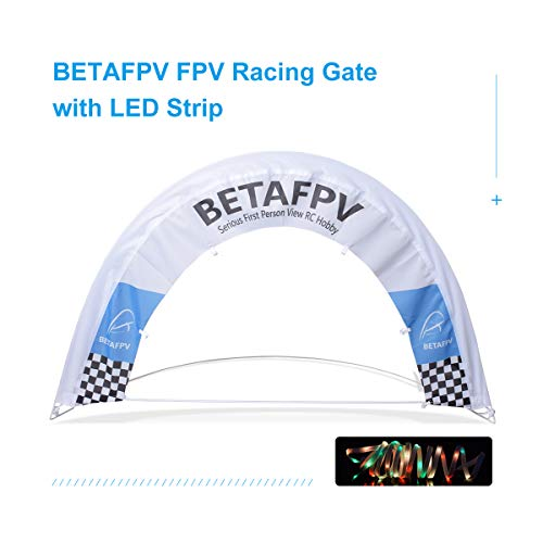 BETAFPV 1pcs Micro FPV Racing Air Gates Semicircle Arch with LED Strip Racing Indoor Outdoor Gate Set for Tiny Whoop Race