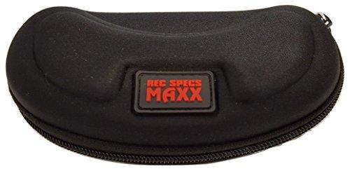 Rec Specs MAXX Black Hard Eyeglass Storage ()