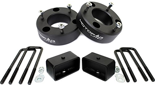 MotoFab Lifts CH-3F-2R 3'' Front and 2'' Rear Leveling lift kit for 2007-2017 Chevy Silverado Sierra GMC by MotoFab Lifts