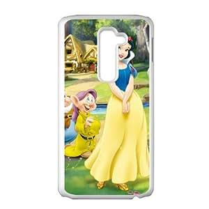 HUAH Elegant snow white Cell Phone Case for LG G2