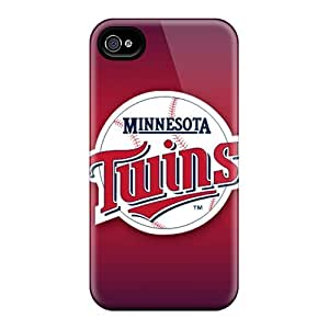 Bumper Hard Cell-phone Case For Iphone 6plus (uon18596giZy) Support Personal Customs Nice Minnesota Twins Skin