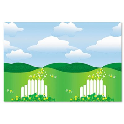Fadeless Designs Bulletin Board Paper, Landscape, 50 ft x 48'', Sold as 1 (48' Roll Display)