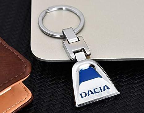 DOREMI - Llavero con Emblema de Dacia de Metal, Color Azul ...